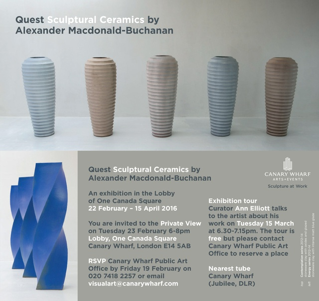 Quest Sculptural Ceramics by Alexander Macdonald-Buchanan